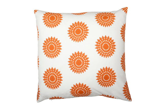 COCOCOZY Wauwinet Pillow in Orange