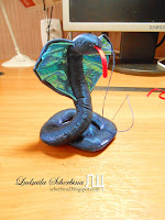 мягкая игрушка кобра, мастер-класс