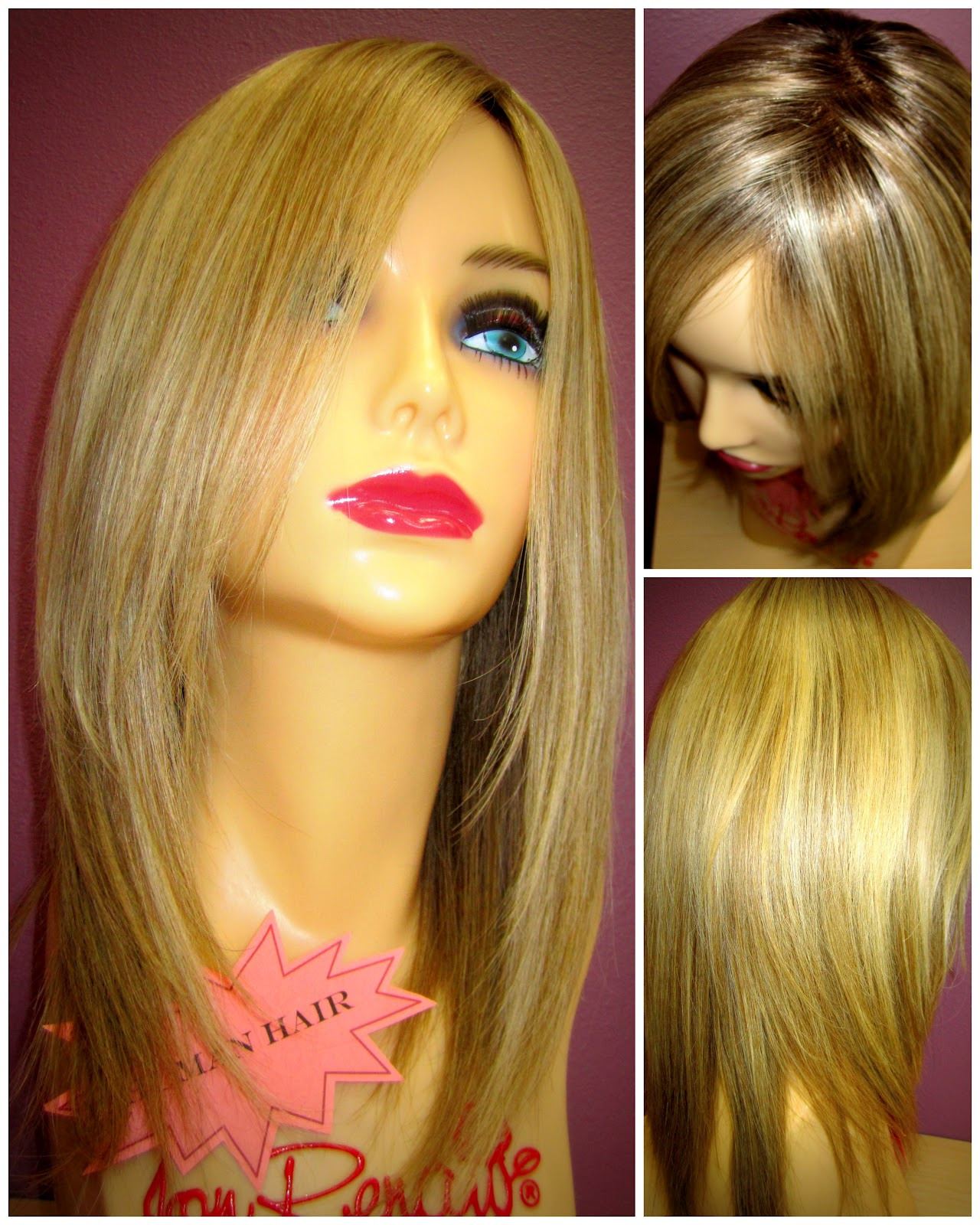 Lynne's Wig Boutique: New Human Hair~ Jennifer by Jon Renau