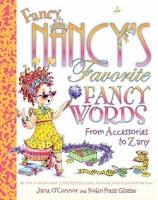 bookcover of Fancy Nancy's Favorite Fancy Words