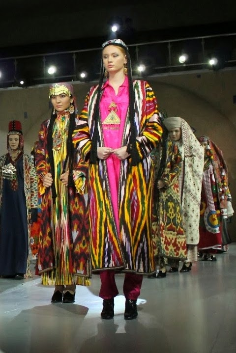 Local Style Traditional Costume Of The Republics Of