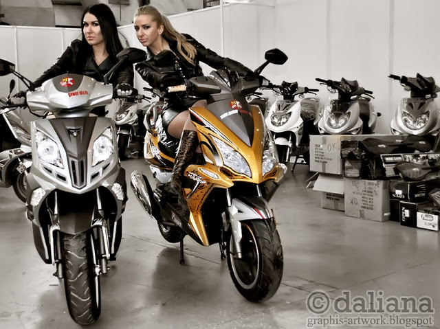 canada otomotive of event show Motociclete show models and piagio