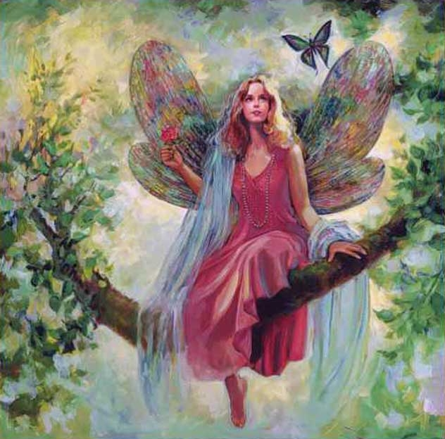 Mary Baxter St. Clair | American Magical Fantasy painter | The Secret Gardens