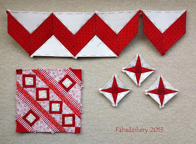 Day 2 - Twelve Days of Stitching, Fabadashery