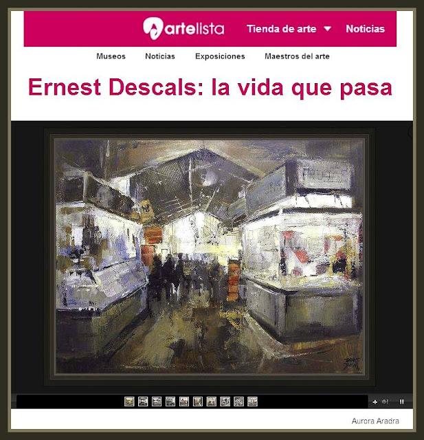 ARTELISTA-ERNEST DESCALS-NOTICIAS-PINTURA-PINTOR-ERNEST DESCALS