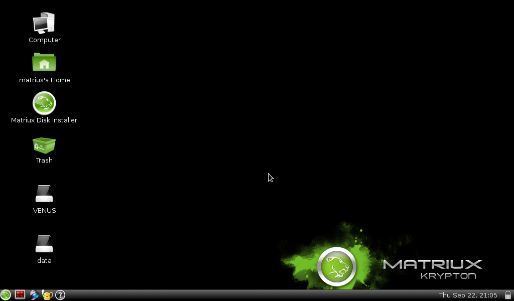 desktop matriux krypton