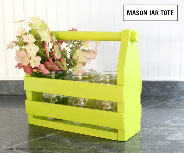 mason jar tote build diy mason