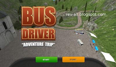 1 Tampilan utama - Bus driver 2015 - game permainan android mengendarai bus
