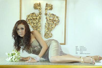 myanmar model girl