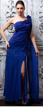 Vestidos Madre de la Novia, Azulino