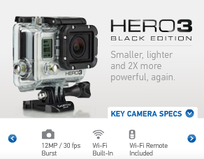 GoPro Hero 3 - The Most Versatile Video Camera