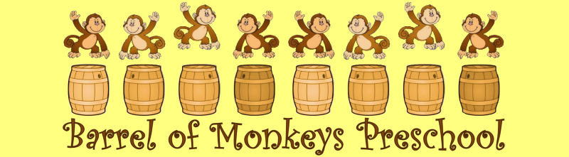 Barrel Of Monkeys Preschool