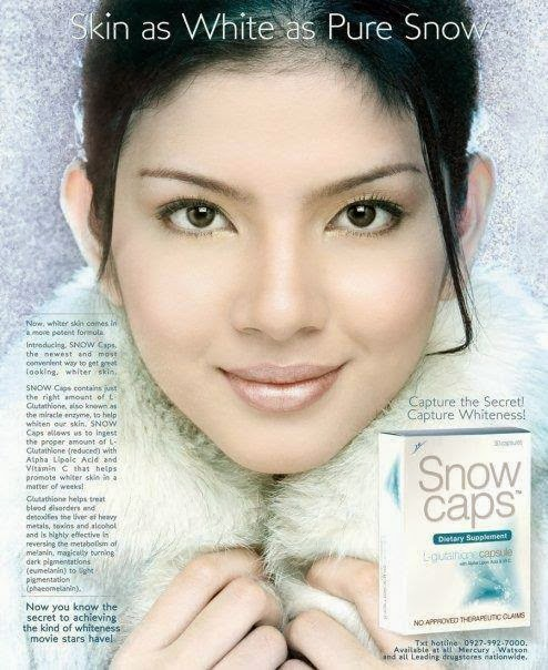 What is the proper dosage of glutathione to whiten skin?