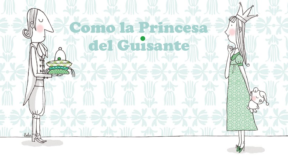 Como la princesa del guisante