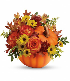 Order fall Flowers in a Pumpkin
