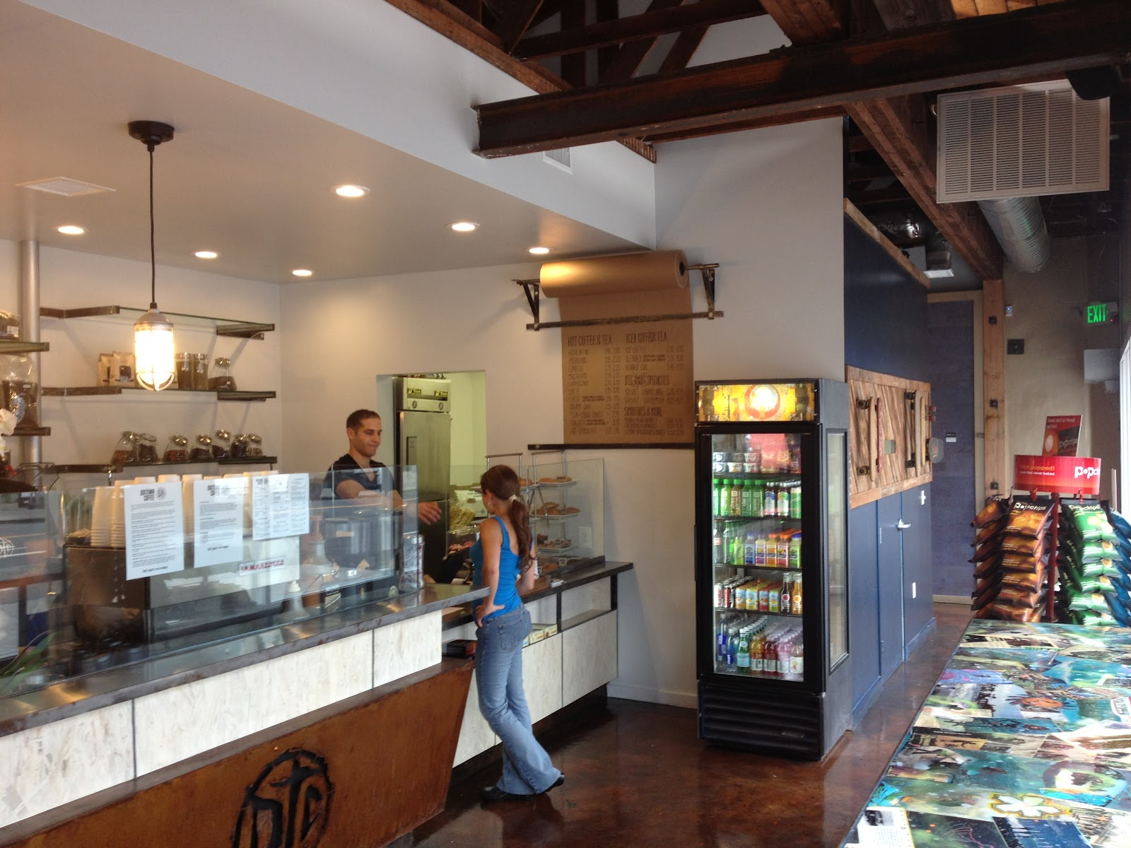 the unemployed eater dogtown coffee opens today on santa