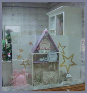 Escaparate de Navidad en la tienda de moda infantil Badum Badero, foto 3