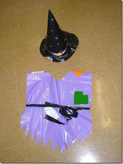 Imagina y recicla disfraces de halloween con bolsas de - Plastico inyectado casero ...