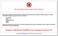 Cara Membuka Situs Terlarang yang diblokir oleh Nawala dan Internet Positif