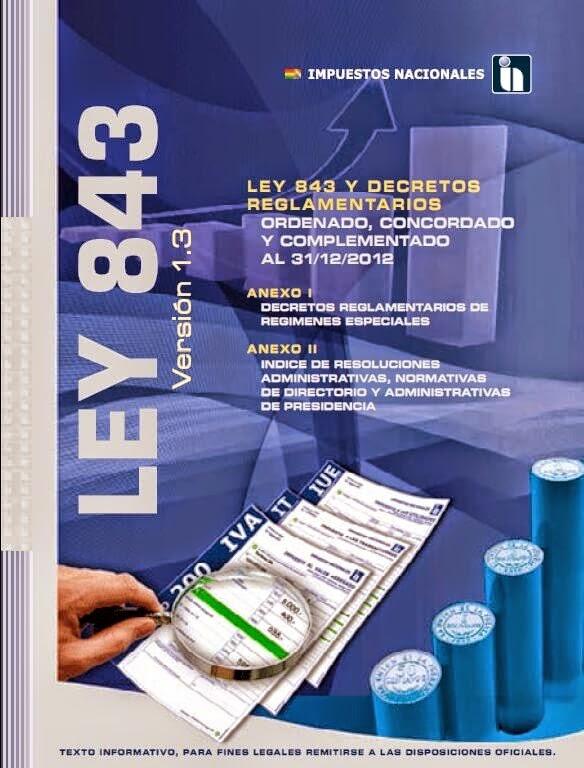 Ley 843 pdf reforma tributaria contadur a publica umsa for Oficina virtual de la ugr