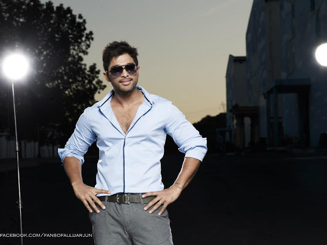Latest Photoshoot of Allu Arjun Latest Photoshoot of Allu