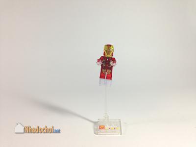 Lego giả mô hình siêu anh hùng Iron Man 1