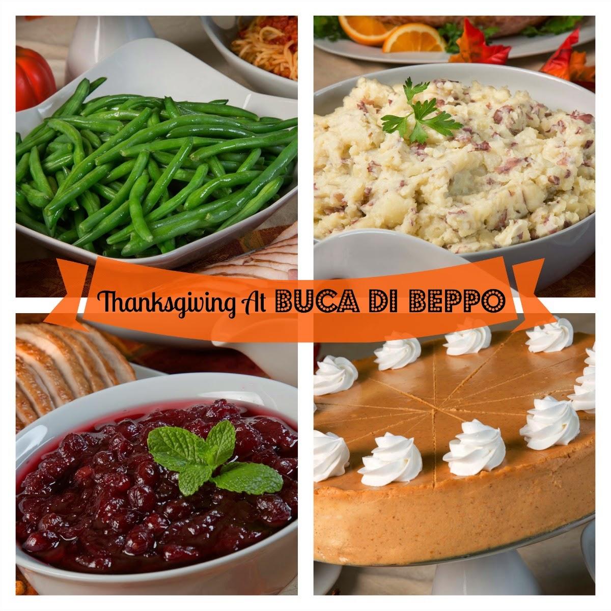 Thanksgiving at Buca di Beppo