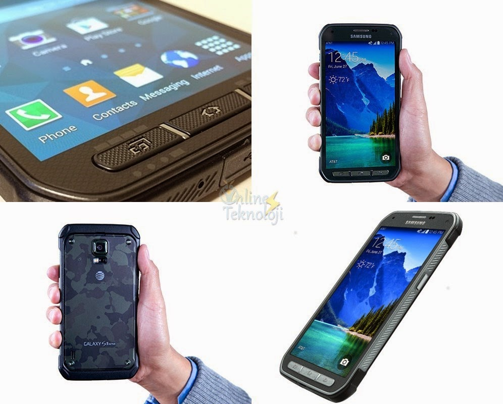 Galaxy S5 Active Tanıtım