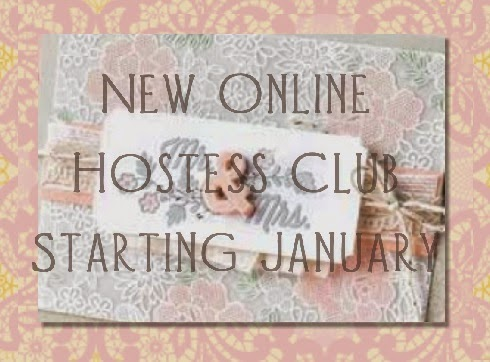 New online hostess club for Zena Kennedy independent stampin up demmonstrator