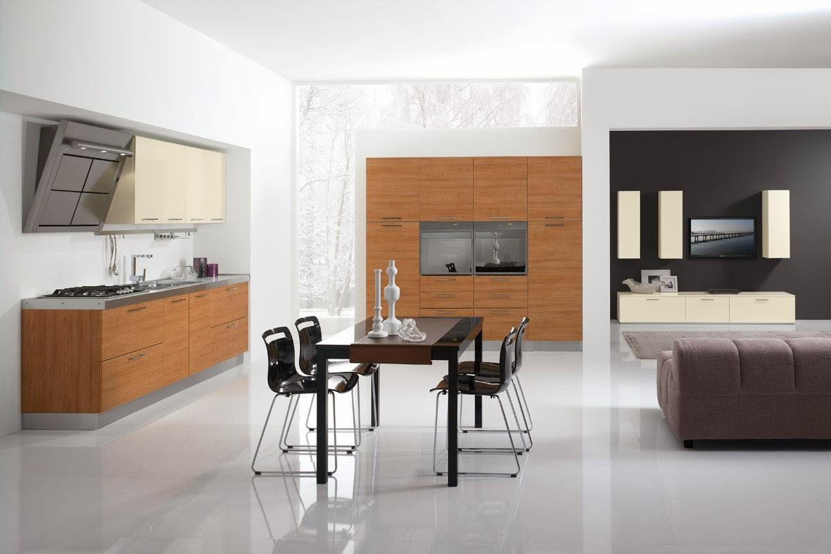 Cocinas descaradamente abiertas cocinas con estilo - Disenar tu cocina ...