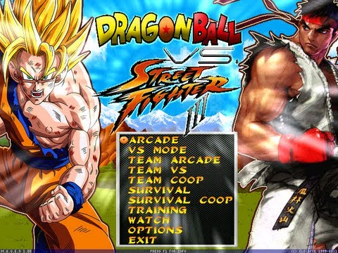 Download Dragon Ball Z VS Street Fighter III PC