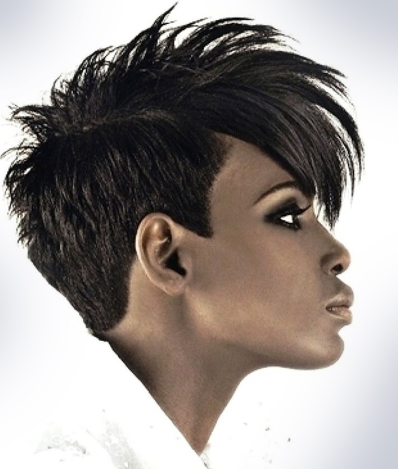 Short Natural Hair On Black Woman