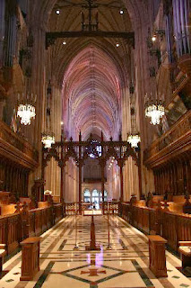 national cathedral, washington d.c., west wing, two cathedrals, front of church