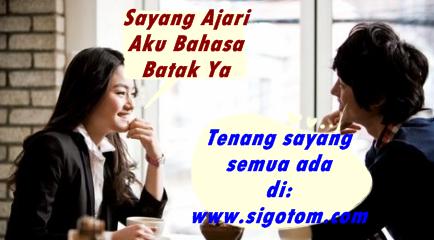 Contoh Percakapan Bahasa batak sehari-hari