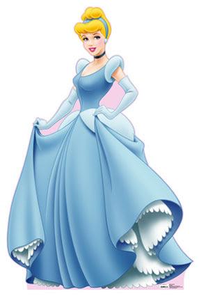 Dibujo de la Cenicienta de princesa