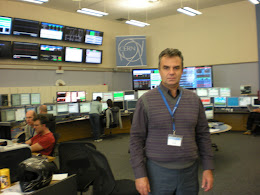 Dr. Bill Drougas at the CERN control Center