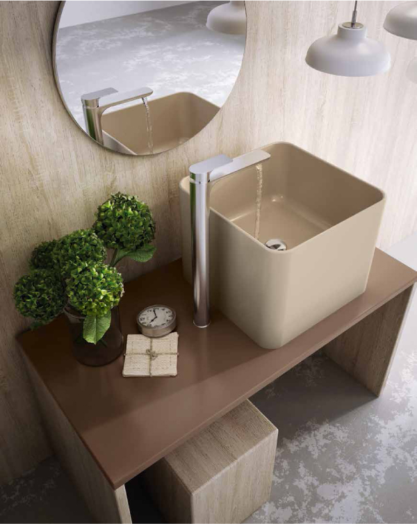 Un nuovo bagno sostenibile e di design blog di - Sanitari bagno beige ...