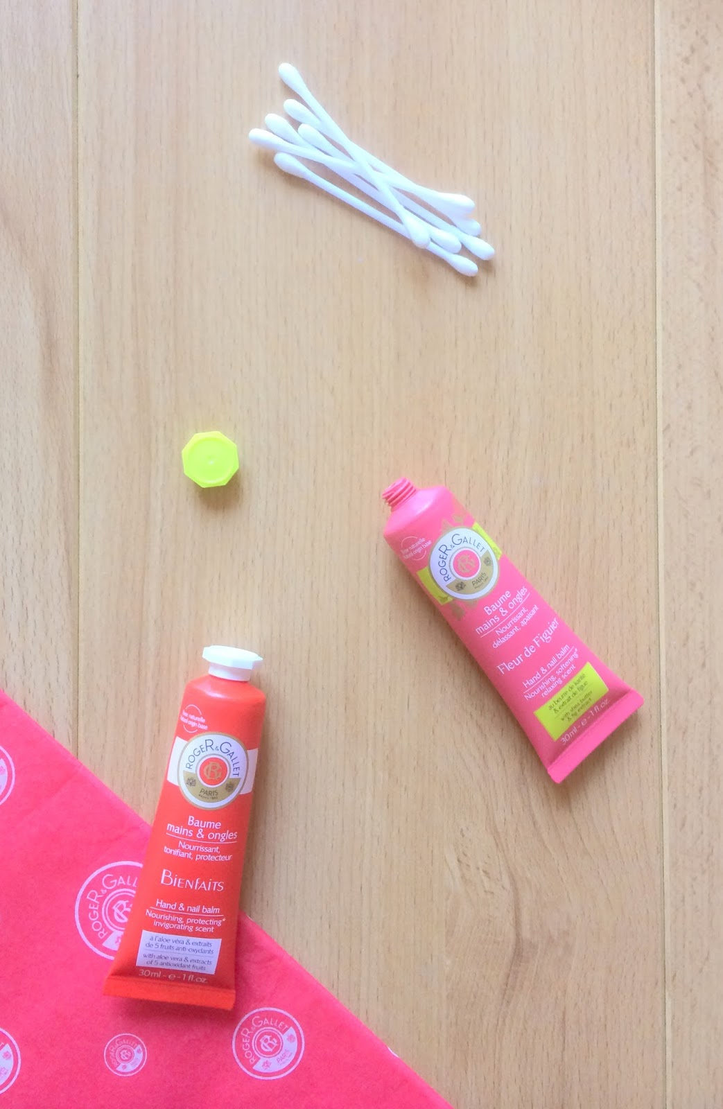 roger & gallet nail and hand balms review