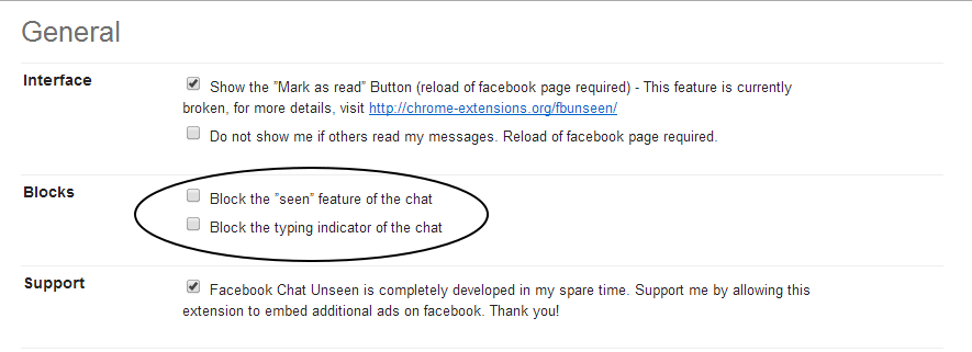 Disable or  Hide the Last Seen option from Facebook Chat - My Blog Story