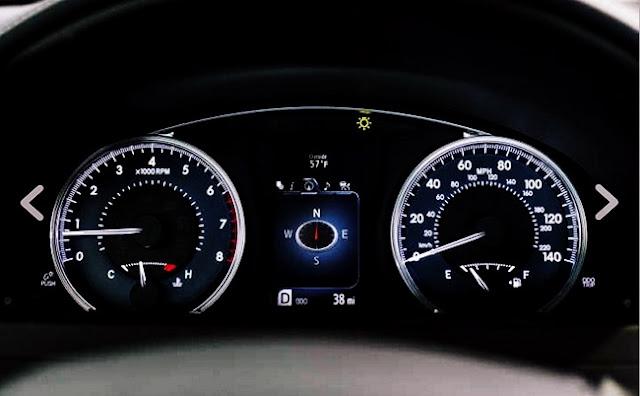 2017 Toyota Camry XSE Specs Speedometer
