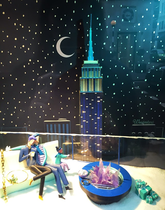 Tiffany's Christmas Windows London