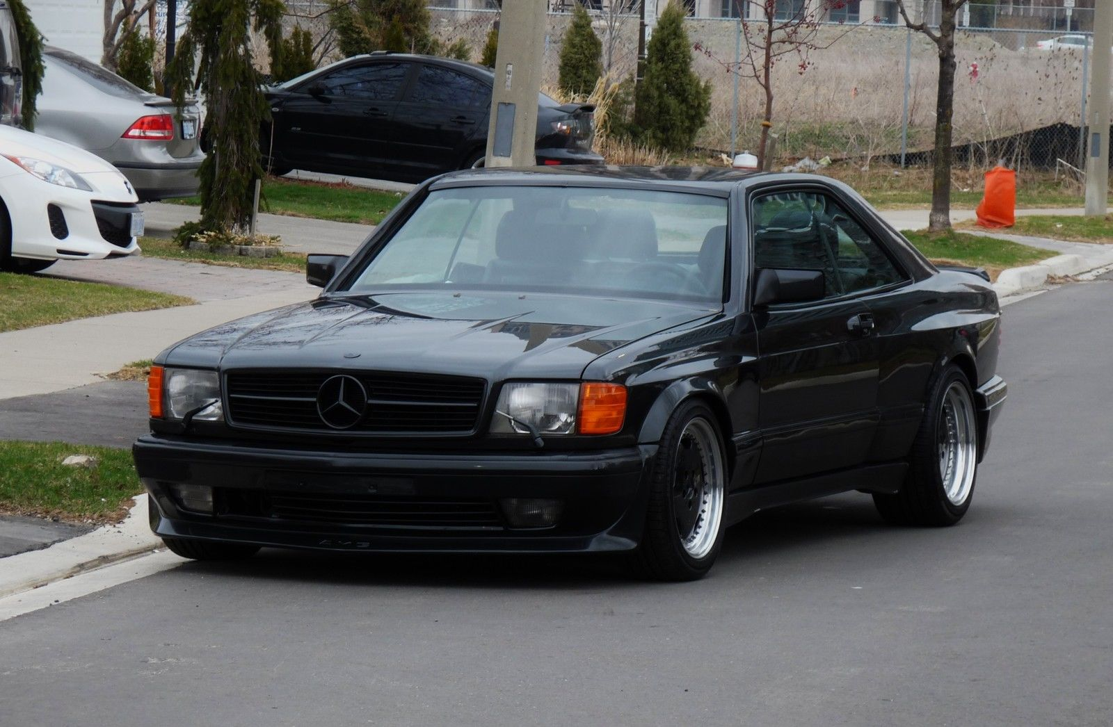 1990 mercedes benz 560sec amg 6 0 widebody is badass but for Mercedes benz 560sec for sale