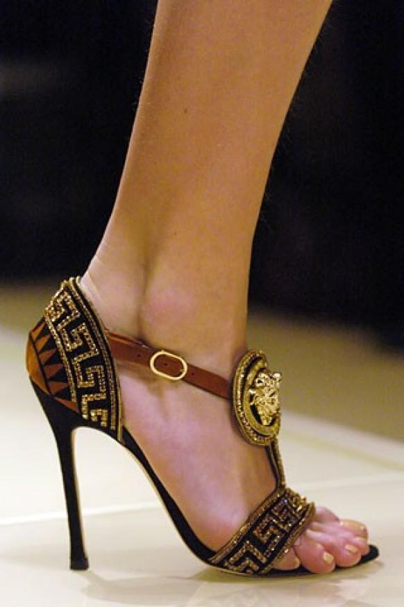 Adorable versace high heel sandal fashion