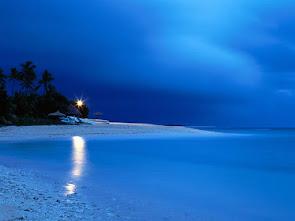 De orillas azules...