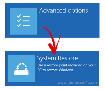 restore system using restore points