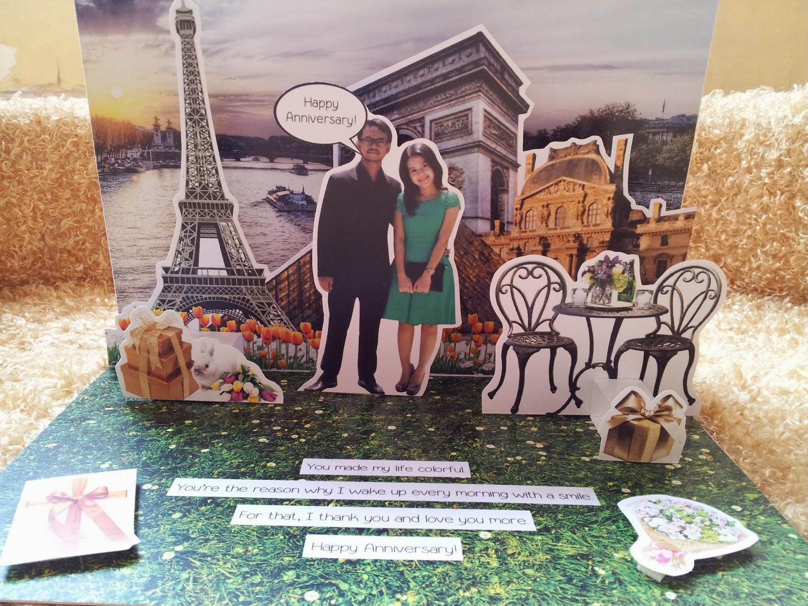 Ide kado anniversary unik untuk pasangan be upnormal !