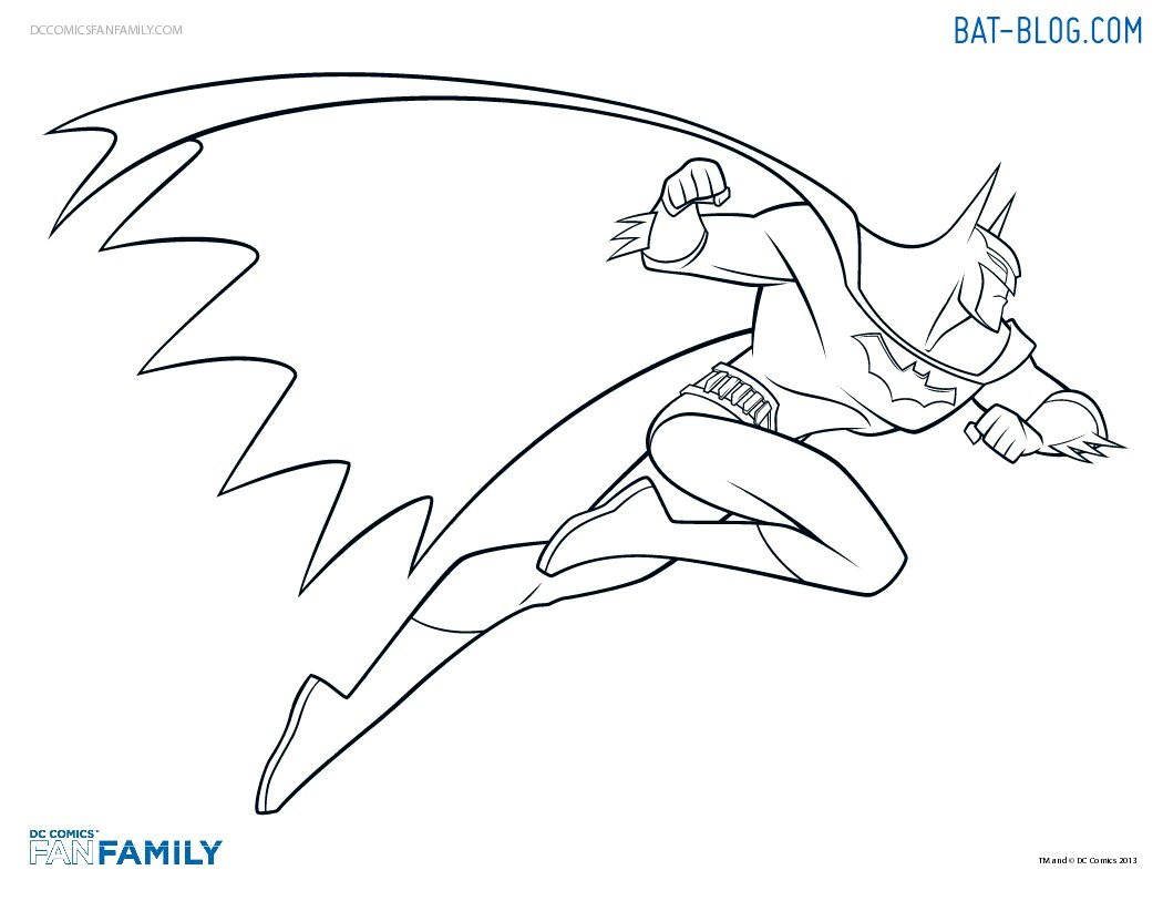 Free Coloring Pages Of Batman Batmobile Batman Color
