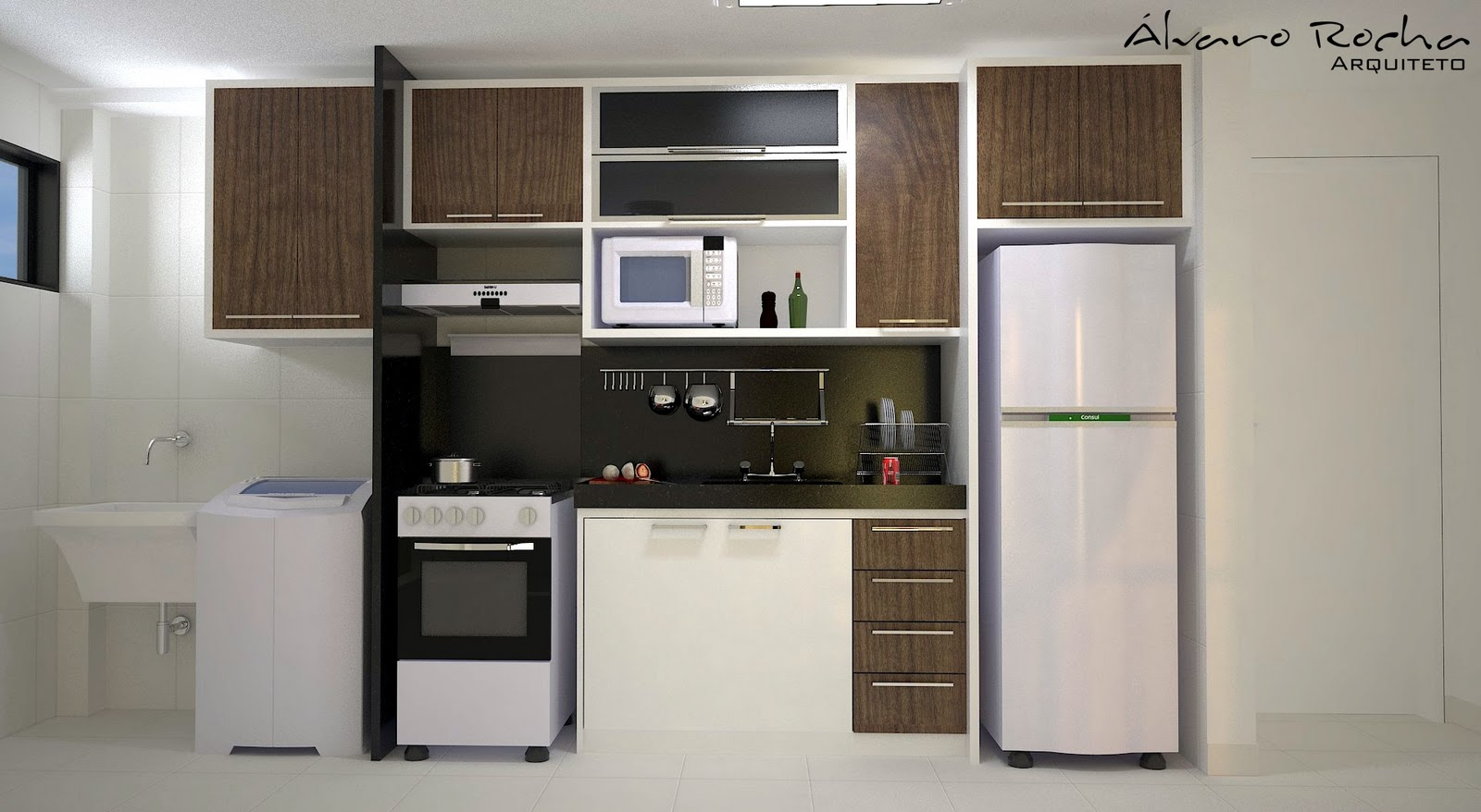 Apartamento Res. Vale Verde II ~ Álvaro da Rocha Arquiteto #4A6081 1600 878