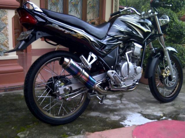 Foto Modifikasi Motor Yamaha Scorpio Z Clasic Terbaru 2015