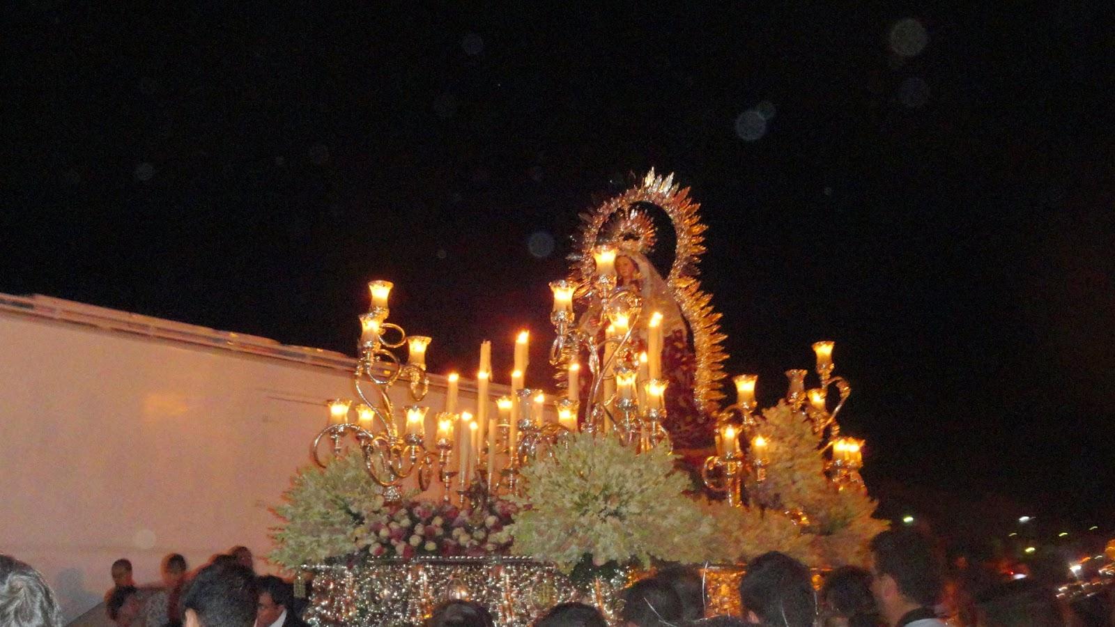 Procesion de la Virgen de Gracia en Gelves